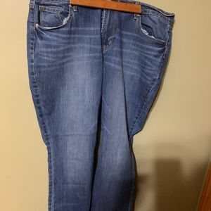 size 16 old navy boot cut